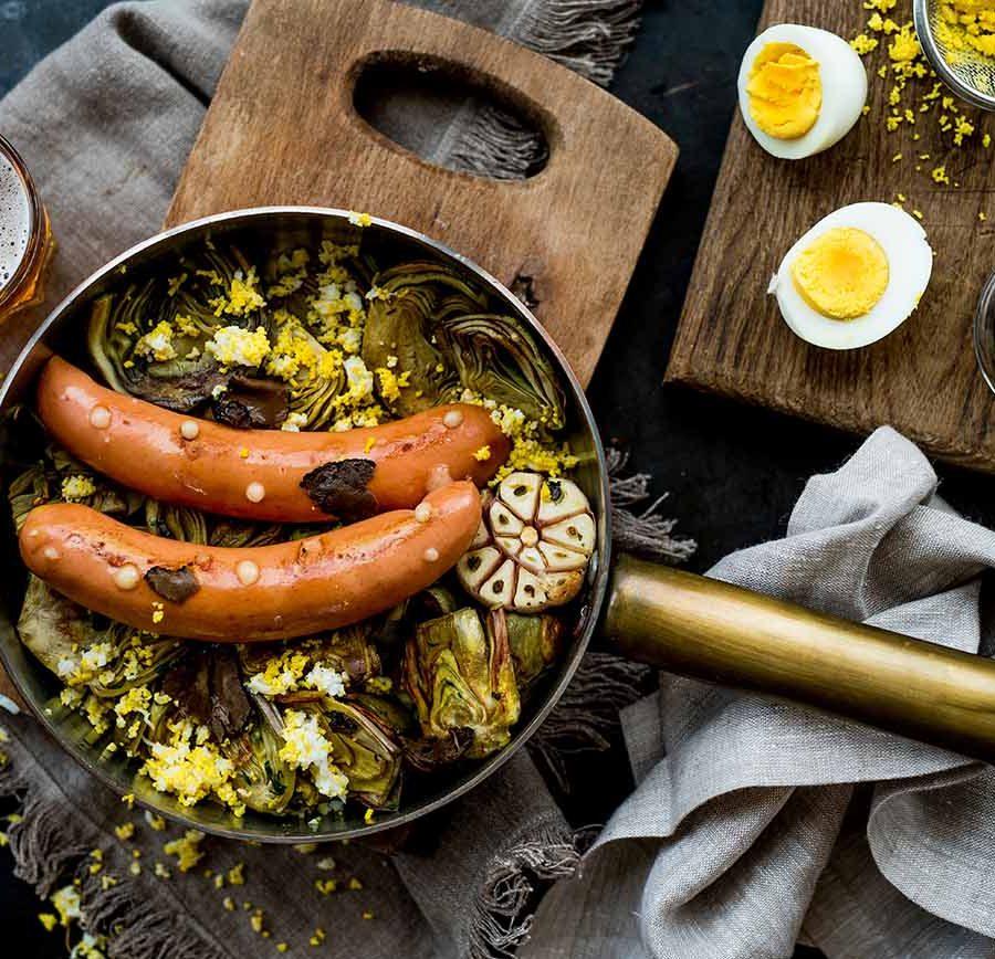 bavarese n38 carciofi ricetta
