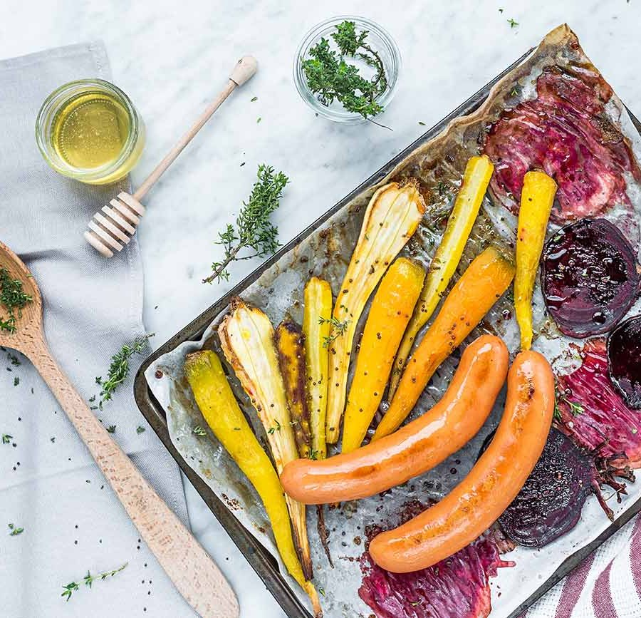 ricetta radici e verdura forno